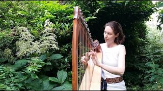 """Celtic Harp Solo """"A la Source"""" by Nadia Birkenstock (Keltische Harfe)"""