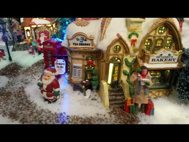 Ons Kerstdorp 2017 - Lemax Christmas Village