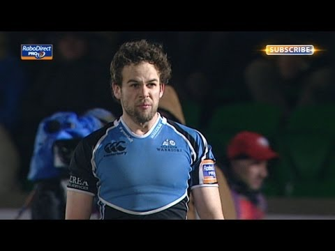 Ruaridh Jackson Penalty - Glasgow Warriors v Munster 29th March 2013
