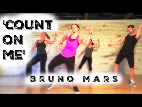 Cardio Dance - 'Count On Me' by Bruno Mars - Melissa Ray Fitness