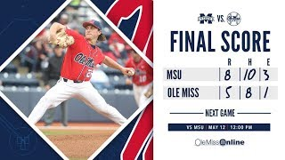 HIGHLIGHTS | Ole Miss vs. MSU 5 - 8 (Game 2) - 5/11/19