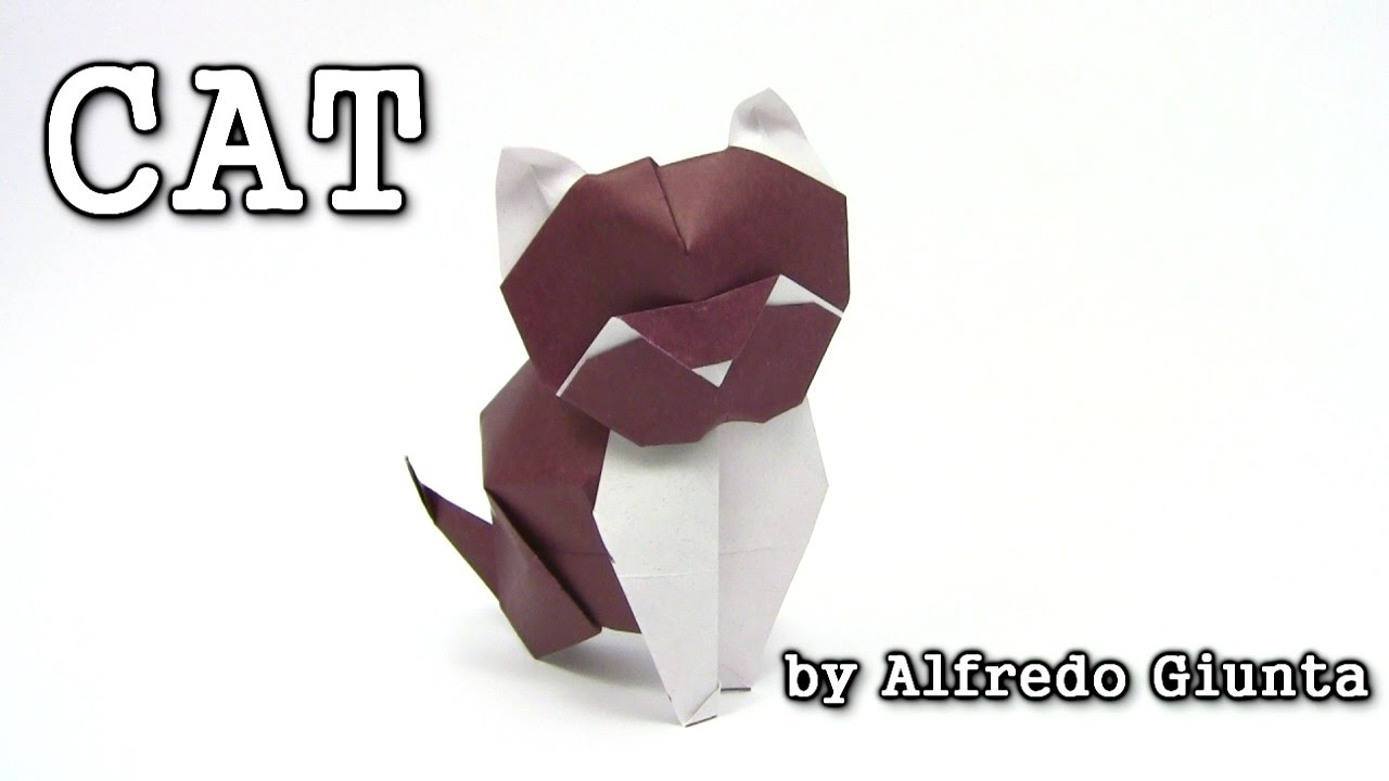 25 Purr-fect Origami Cats, Fur Real, I'm not Kitten... | 720x1280