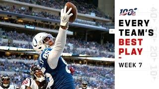 Every Team's Best Play of Week 7!   NFL Highlights