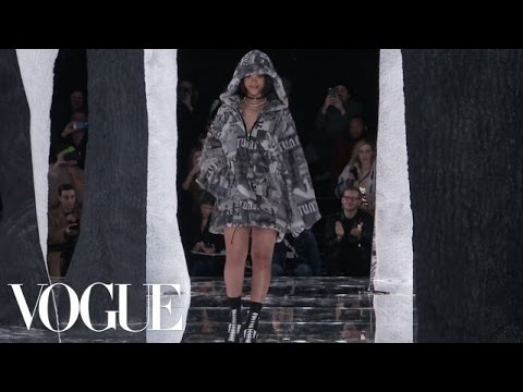 Rihanna's Fenty x Puma Fall 2016 Ready-to-Wear | New York Fashion Week