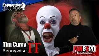 A Moment With Tim Curry on playing Pennywise in