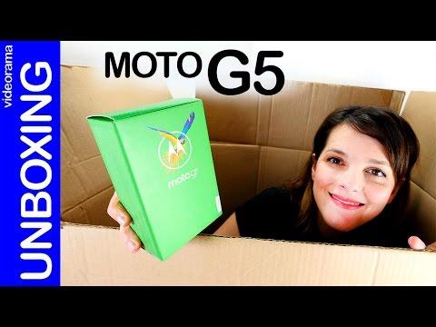 Lenovo Moto G5 unboxing y primeras impresiones