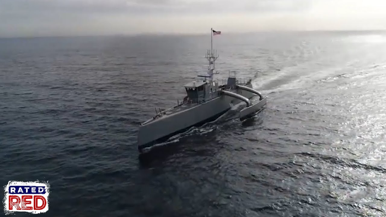 "Autonomous, Submarine-Stalking ""Sea Hunter"" Passes DARPA Testing. Now Onto Navy."