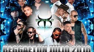 Reggaeton Julio 2016 - Dj pollo