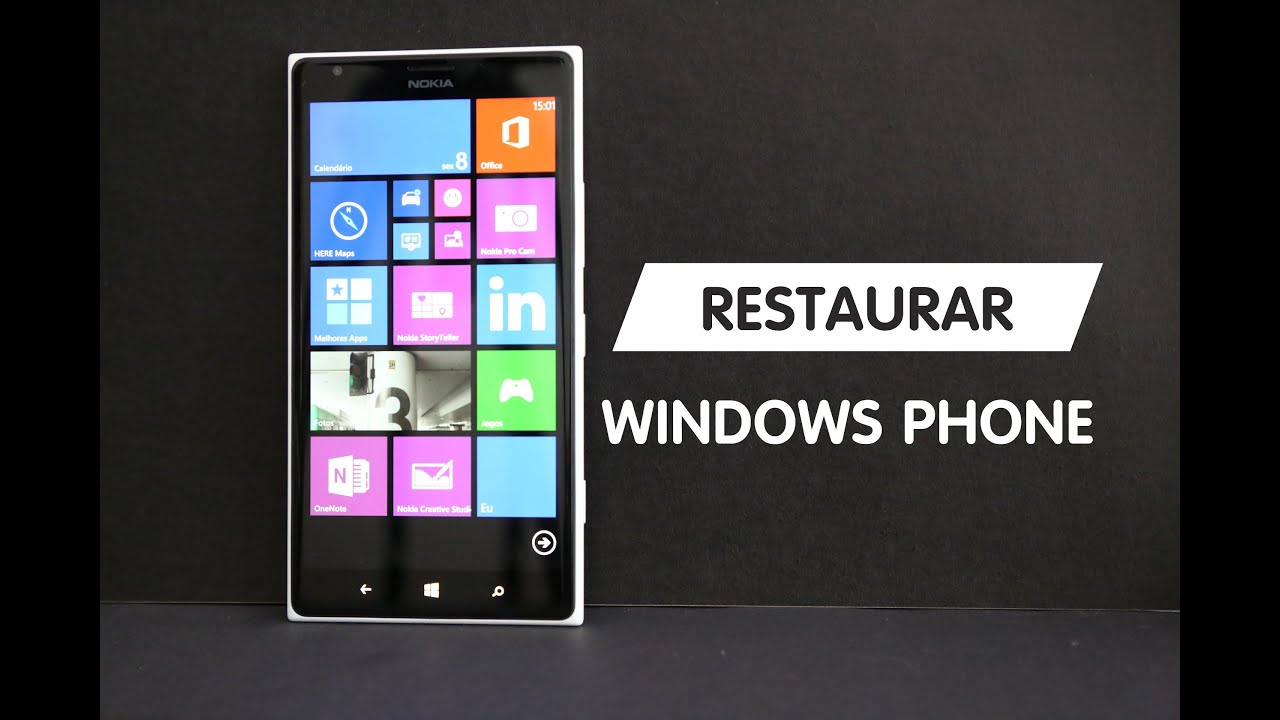 Como localizar un celular perdido windows phone
