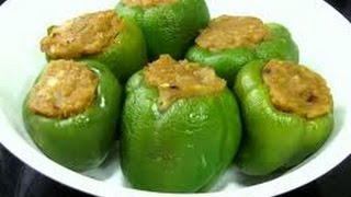 how to make bell pepper sabzi with gram flour
