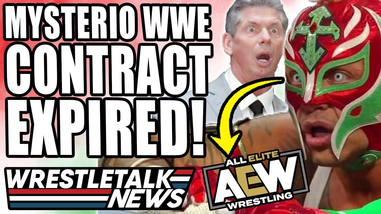 CM Punk AEW Offer Details Revealed! Rey Mysterio WWE Contract Expires! | WrestleTalk News