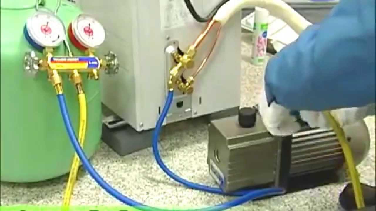 Vac o porque se mide en micrones aire acondicionado for Bomba desague aire acondicionado silenciosa