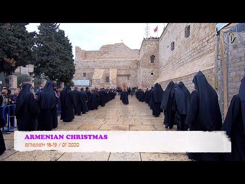 ARMENIAN CHRISTMAS. BETHLEHEM 18-19 / 01 2020