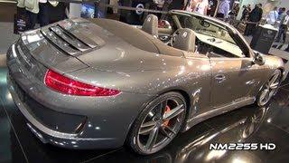 Gemballa GT Porsche 991 Carrera S Cabriolet 2012 Videos
