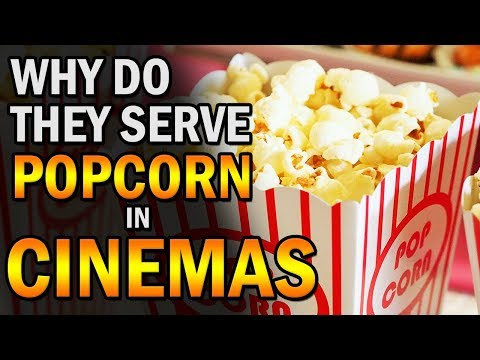 Why Do They Serve Popcorn In Cinemas | Creative Vision