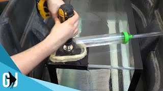 #141: How To Drill A Hole In A 40 Gallon Breeder Aquarium Using A Diamond Hole Saw - Diy Marathon