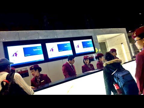*NEW*QATAR Airways A321 Doha To Hyderabad Full Flight Review QR500 | القطرية من  دوها إلى حيدر أباد