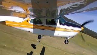 360 camera Cessna 210 take off!