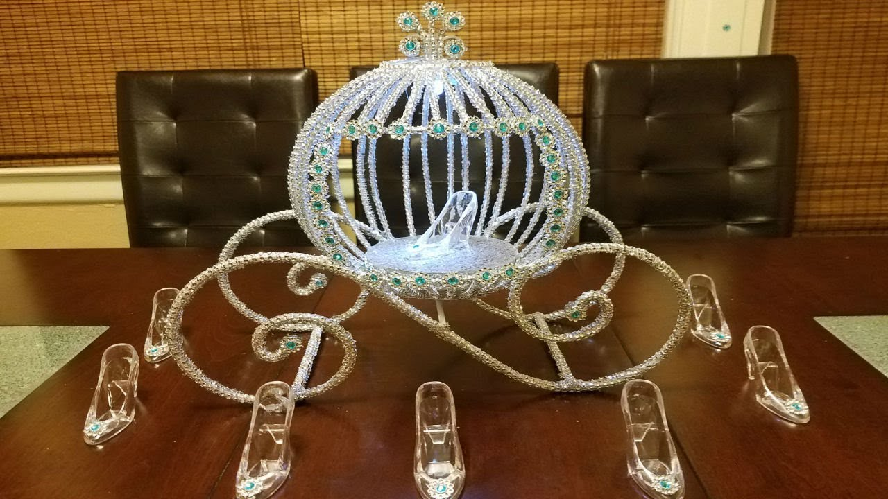 Cinderella Carriage Centerpiece Princess