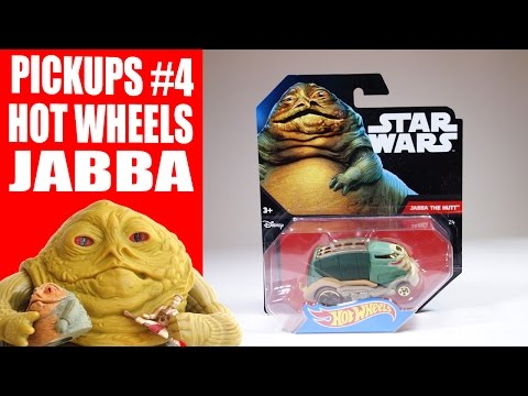 Jabba Collection Pickups #4: Jabba the Hutt Hot Wheels Car