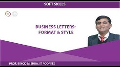 Business Letters: Format & Style