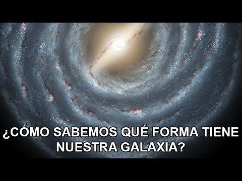 ¿Cómo sabemos qué forma tiene la Vía Láctea?
