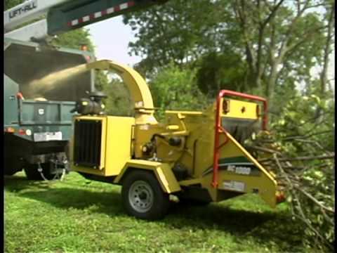 Bc1000xl Brush Chipper Vermeer Tree Care Equipment Youtube