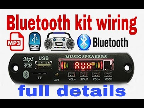 how to make Bluetooth kit board and 6283ic kit/4440ic kit wairing at home(  100% working )