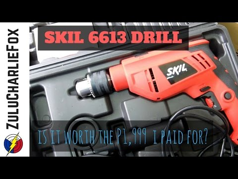 Unboxing the SKIL 6613 Impact Drill from Lazada - is it wort