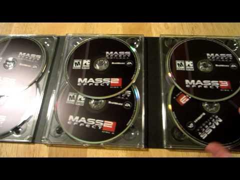 Mass Effect Trilogy Unboxing [PC]