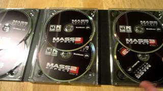 Mass Effect Trilogy Unboxing [PC]