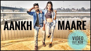 Aankh Marey - SIMMBA | Bollywood Duet Dance Choreography | Panchi & Neel .