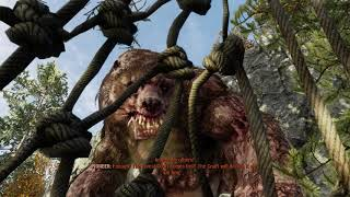 Metro Exodus - The Taiga: Artyom Captured By Pioneers & Pirates, Mutant Bear Attacks Sequence (2019)