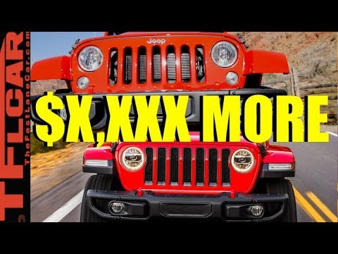 The New 2018 Jeep Wrangler May Cost How Much??