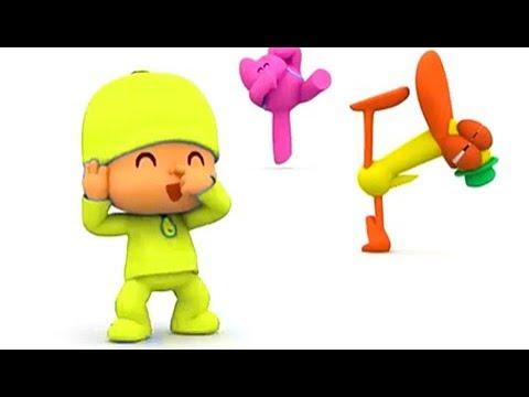 pocoyo-en-español-2018- -los-ejercicios-de-pocoyo- -caricaturas-para-niños