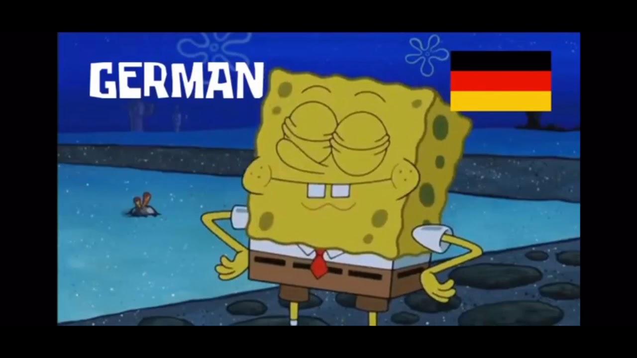 German Spongebob