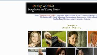 Online Dating Sites : About Online Russian Dating Sites