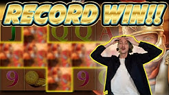 RECORD WIN! Roman Legion Big win - HUGE WIN on Casino slots from Casinodaddy