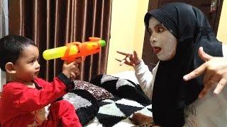 Azufi Takut Liat Wa Neng Kayak Zombie Pake Masker Kecantikan