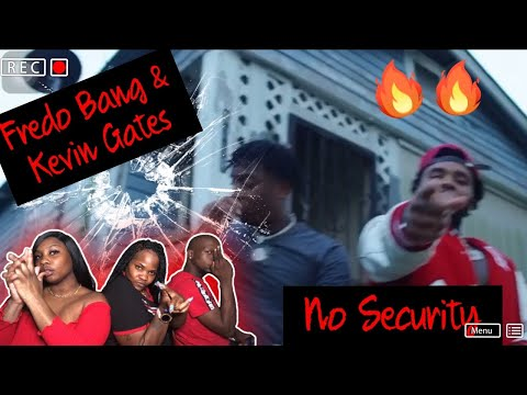 Its The Organ For Me! 🔥😱| REACTION | Fredo Bang – No Security Feat. Kevin Gates (Official Video)