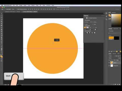 How To Make A Perfect Circle In Photoshop CC, CS5/CS6 ...