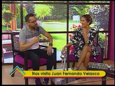 Nos visita Juan Fernando Velasco