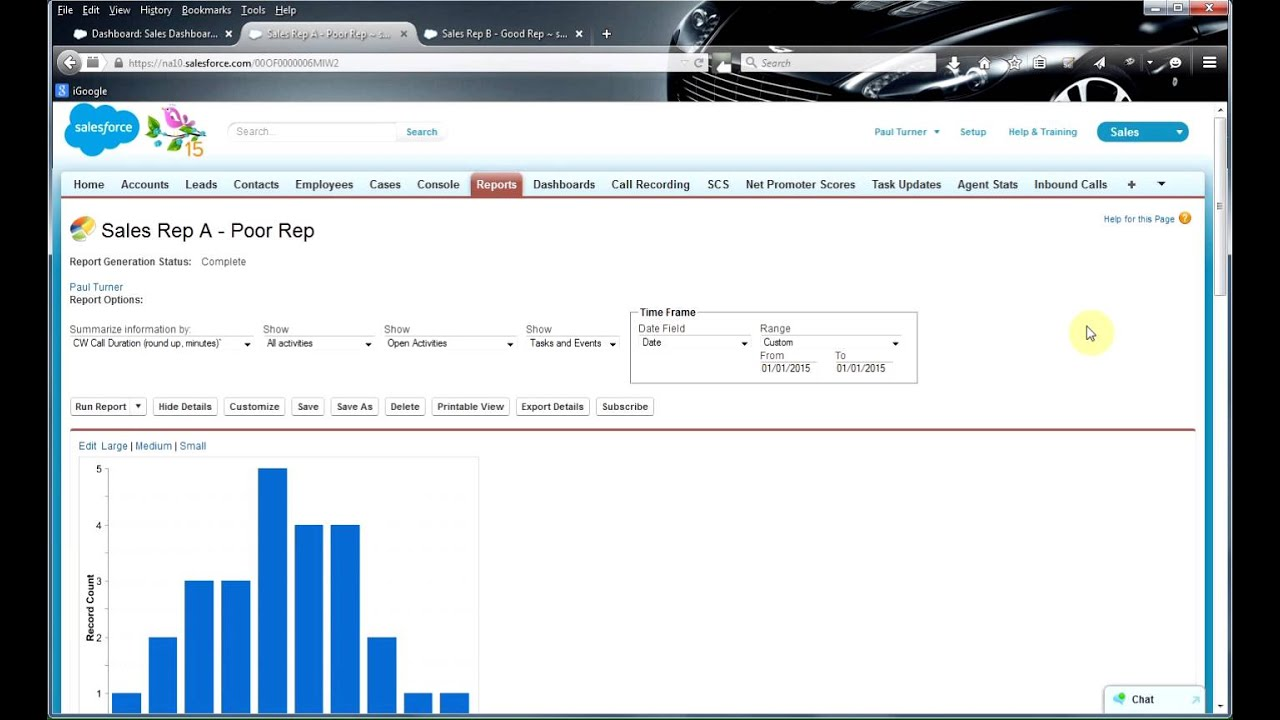 Agentstats how to improve sales performance using salesforce dashboards and  newvoicemedia