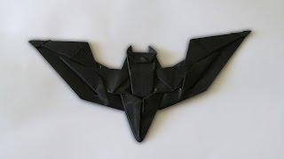 Origami: Batman Batarang ( designed byJeremy Shafer )