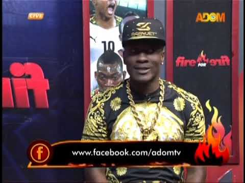 One-on-one with Asamoah Gyan - Fire 4 fire on Adom TV (22-11-18)