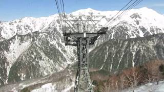 The Northern Alps of Japan- Hida mountains gondola - Shin-Hotaka Ropeway