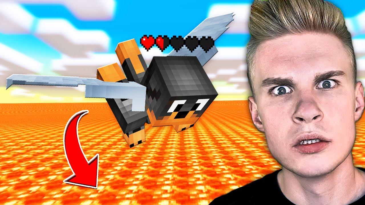 LECIAŁEM do MILIONOWIC 3 DNI i STAŁO SIĘ TO... w Minecraft! 😭 *KONIEC*