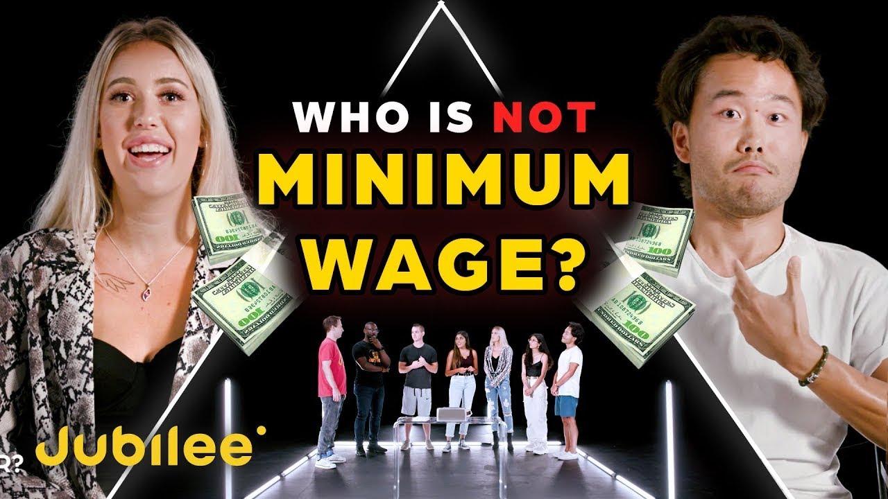 6 Minimum Wage Workers vs 1 Secret Millionaire