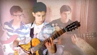 Легендарная песня ТАНЦЫ МИНУС - ПОЛОВИНКУ СЕБЯ (Кавер под гитару)