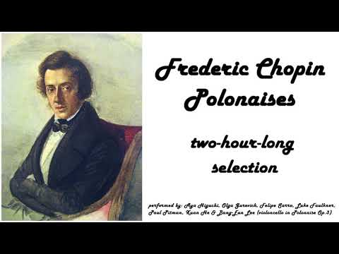 Frederic Chopin - Polonaises in 432 Hz (relaxing piano music)